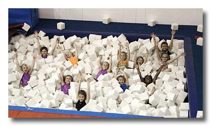 Foam Pit Fun